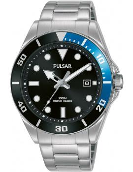 Pulsar PG8293X1 Športové Men's 40mm 10ATM