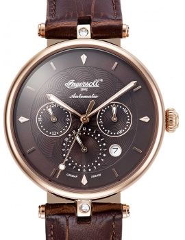 Ingersoll IN1318RBR Shawnee Ladies Automatic 38mm 3 ATM