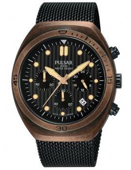 Pulsar PT3984X2 One Shot Chrono + Replacement Strap 42mm 10ATM
