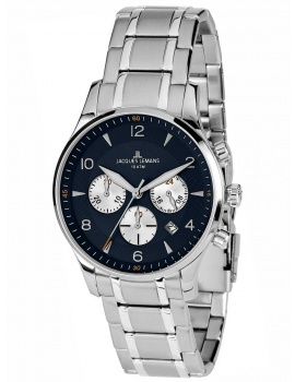 Jacques Lemans 1-1654K London Chronograph Men's 40mm 10 ATM