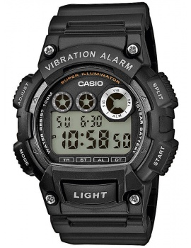 CASIO W-735H-1AVEF Collection 47mm 10 ATM