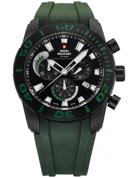 Swiss Military SM34031.03 Chronograph 44mm 10ATM
