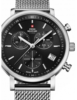 Swiss Military SM34058.01 Chronograph 42mm 10 ATM