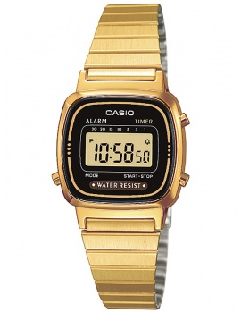 CASIO LA670WEGA-1EF Collection Dámske 24mm 3ATM