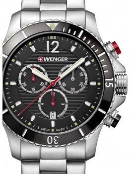 Wenger 01.0643.109 Seaforce Chronograph 43mm 20 ATM