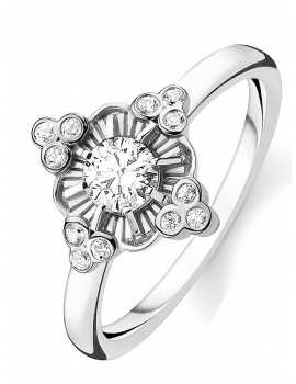 Thomas Sabo Ladies Ring Glam & Soul Royalty Gr. 56 TR2221-643-14-56