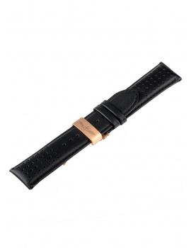 Universal Replacement Strap [24 mm] black + rosé Ref. 23835