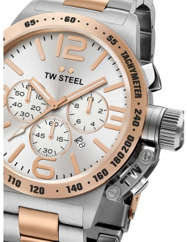 TW Steel CB123 Canteen Bracelet Chronograph 45mm 10ATM