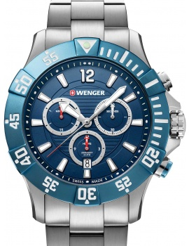 Wenger 01.0643.119 Seaforce diver-chronograph 43mm 20ATM