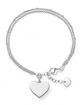 Thomas Sabo Armband Love Bridge LBA0102-001-12 16,5-19,5 cm