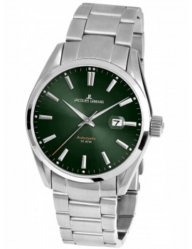 Jacques Lemans 1-1846F Derby Men's 43mm 10 ATM