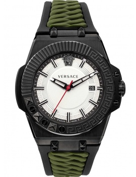 Versace VEDY00419 Chain Reaction men`s watch 46mm 5ATM