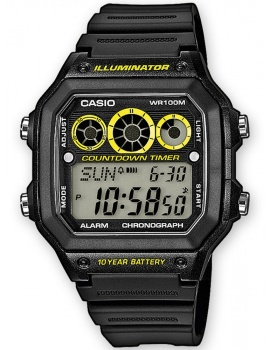 CASIO AE-1300WH-1AVEF Collection 10 ATM 42mm
