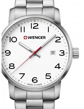 Wenger 01.1641.104 Avenue Men's 42mm 10 ATM
