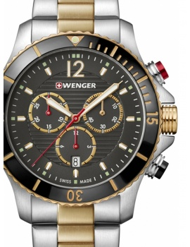 Wenger 01.0643.113 Seaforce Chronograph 43mm 20 ATM