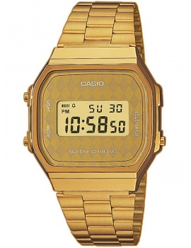 CASIO A168WG-9BWEF Collection 35mm 3 ATM