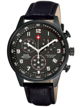 Swiss Military SM34012.08 Chronograph 41mm 5 ATM