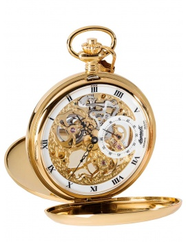 Ingersoll IN9011GWH Pocket Watch With Manual Winding 54mm