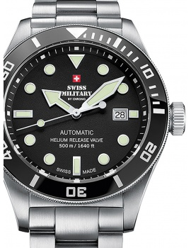 Swiss Military SMA34075.01 Automatic 44mm 50ATM