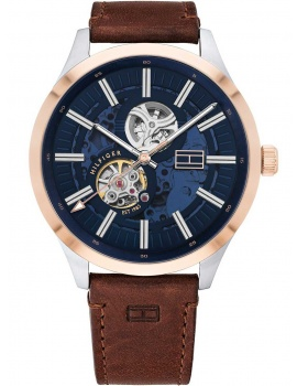 Tommy Hilfiger 1791642 Spencer automatic men`s 44mm 3ATM