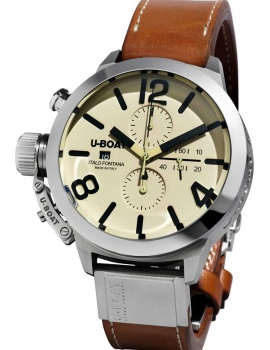 U-Boat 7431/A Classico 45mm tungsten Automatic chronograph