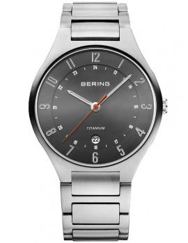 Bering 11739-772 Titanium Men's 39mm 5 ATM