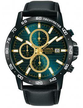 Lorus RM319GX9 classic chronograph 43mm 10ATM