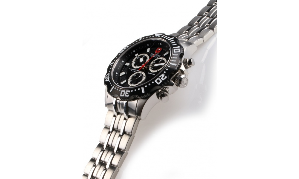 Swiss Military Hanowa 06-5305.04.007 Patrol Chrono 45mm 10ATM ... 1aff619203e