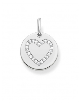Thomas Sabo LBPE0005-051-14 Love Bridge Anhänger Herz Coin