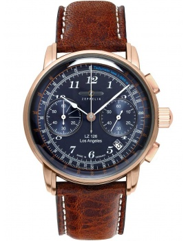 Zeppelin 7616-3 Chronograph LZ126 Los Angeles 43mm 5ATM