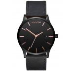MVMT MM01-BBRGL Classic Black Ružové Leather 45mm 3ATM