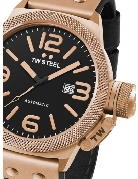 TW-Steel CS75 Canteen Leather Automatické 45mm 10ATM