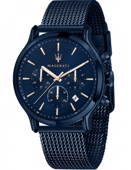 Maserati R8873618010 blue edition chronograph 42mm 10ATM