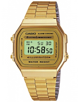 CASIO A168WG-9EF Collection 35mm 3ATM