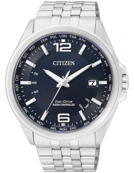Citizen CB0010-88L Eco-Drive Elegantné Radio Controlled Watch Men's 43mm 10 ATM