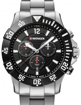 Wenger 01.0643.117 Seaforce Taucher-Chronograph 43mm 20ATM