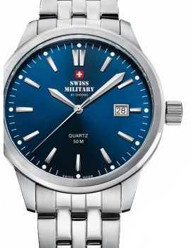 Swiss Military SMP36009.03 Men's 41mm 5 ATM