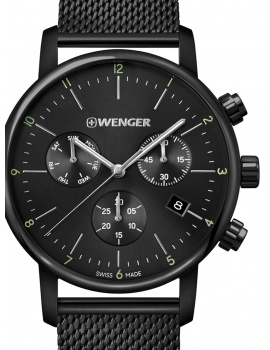 Wenger 01.1743.116 Urban Classic Chronograph 44mm 10ATM
