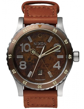 NIXON A269-1958 Diplomat Dark Copper Saddle 45mm 20ATM