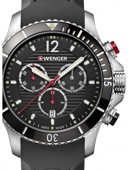 Wenger 01.0643.108 Seaforce Chronograph 43mm 20ATM