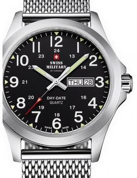 Swiss Military SMP36040.13 Men's 42mm 5 ATM