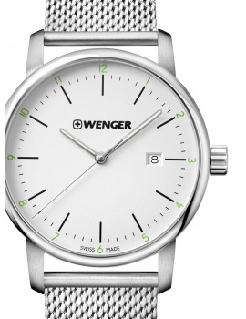 Wenger 01.1741.113 Urban Classic Men's 42mm 10 ATM
