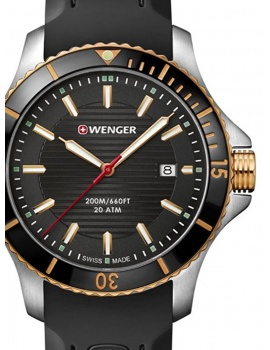 Wenger 01.0641.126 Seaforce Men's 43mm 20 ATM