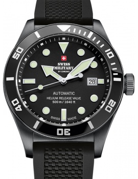 Swiss Military SMA34075.05 Diver automatic 44 mm 50ATM