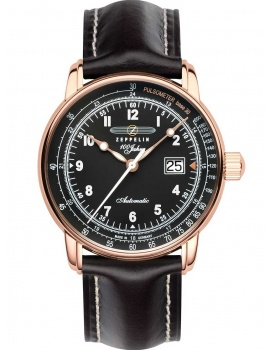 Zeppelin 7654-2 men`s automatic 100 years sapphire glass 43mm