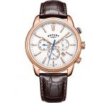 Rotary GS05084/06 Oxford chronograph men`s 40mm 5ATM