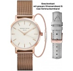 Rosefield DFKLM-D6 The Tribeca white ladies 33mm 3ATM