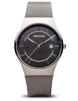 Bering 11938-007 Classic Men's 38mm 3ATM