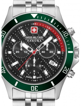 Swiss Military Hanowa 06-5337.04.007.06 Flagship Racer chrono 42 mm 10ATM