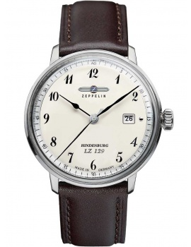 Zeppelin 7046-4 Hindenburg LZ129 men`s watch 40mm 3ATM